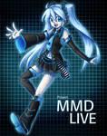 Project MMD LIVE Miku
