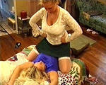 Jill Monroe vs Stacy 6, Jill is over