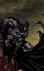 Batman Colored-Finch by likwidlead