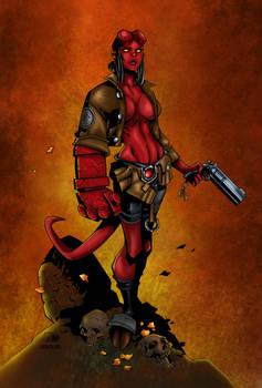 Hellgirl Colored