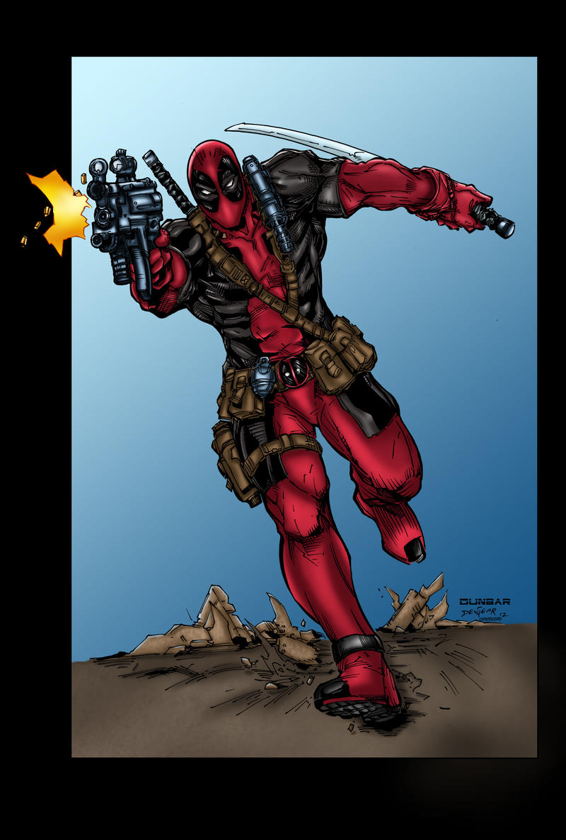 Deadpool Colors by likwidlead