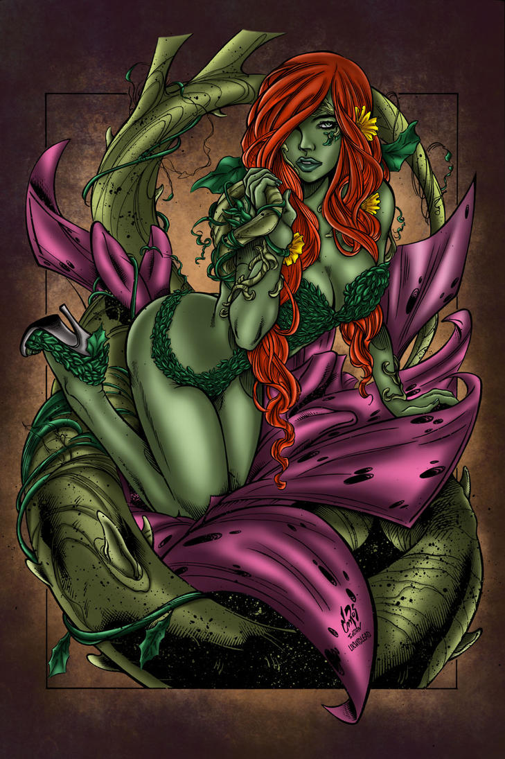Poison Ivy Colors by likwidlead