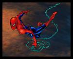 Spidey Swinging Colors