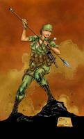 G.I. Joe-Lady Jaye Colors by likwidlead