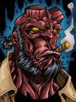 Hellboy by likwidlead