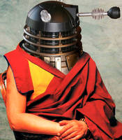 The Dalek Lama by pippin1178