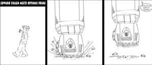 Edward Cullen vs Optimus Prime