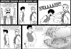 Edward Cullen vs. Bruce Lee by pippin1178