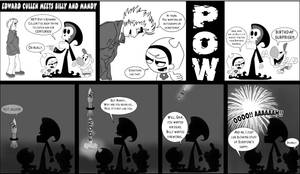 Edward Meets Billy and Mandy