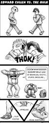Edward Cullen Meets THE HULK by pippin1178