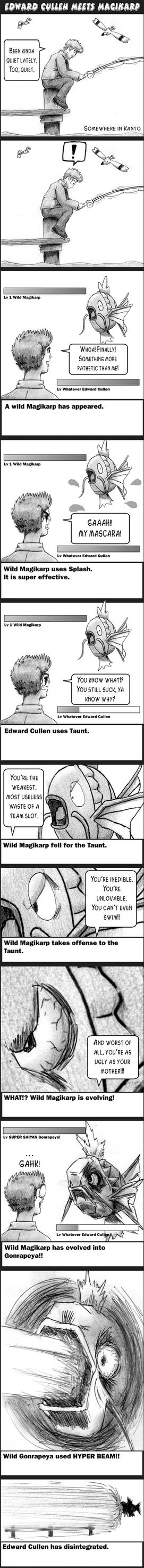 Edward Cullen meets Magikarp by pippin1178