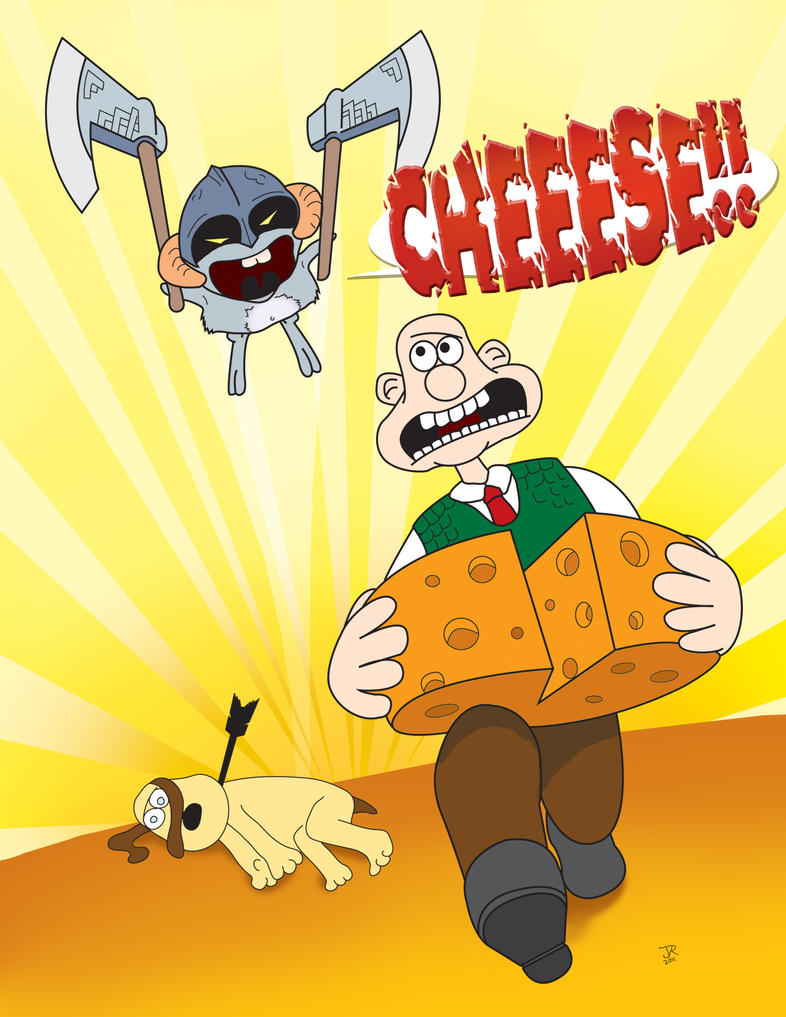 Chinchilla Dave meets Wallace and Gromit by pippin1178
