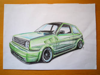 VW Golf II by 9Phoenix9
