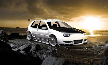 VW Golf mk4 by 9Phoenix9