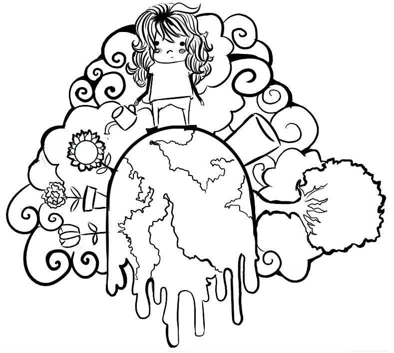 Earth Day Poster Coloring Pages
