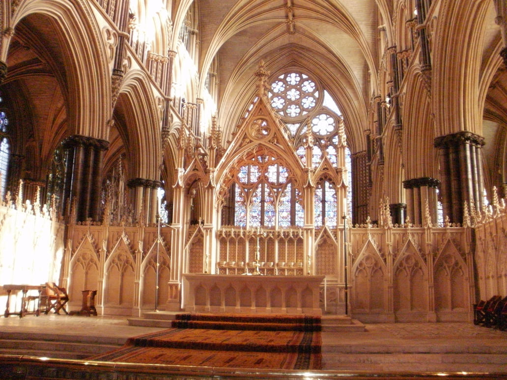 Inside Lincoln Cathedral By Highshamanlythene On Deviantart