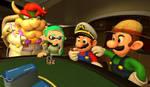 Mario plays Poker