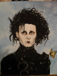 Edward Scissorhands by Ommameta123