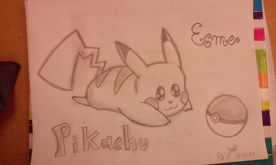 Pikachu Chibi by SonicTHW93