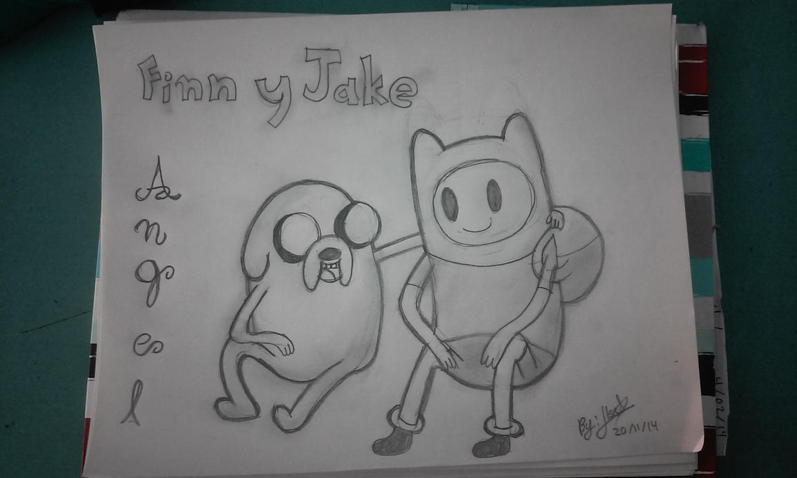 Finn And Jake by SonicTHW93