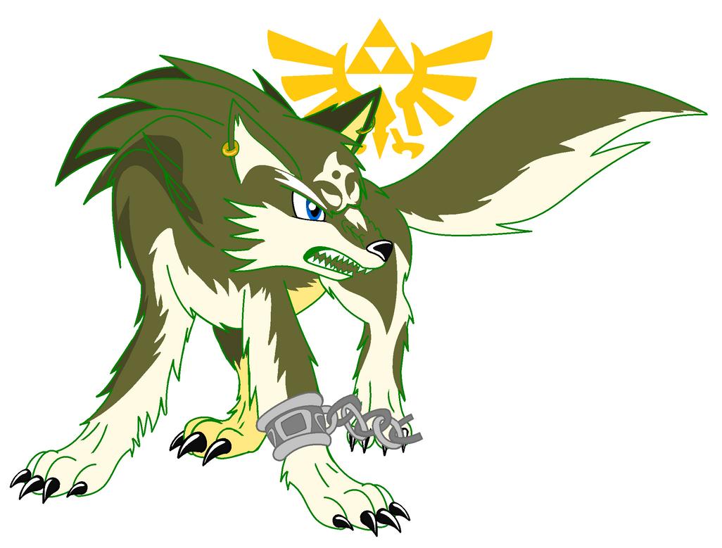 Link Wolf Stiker by SonicTHW93