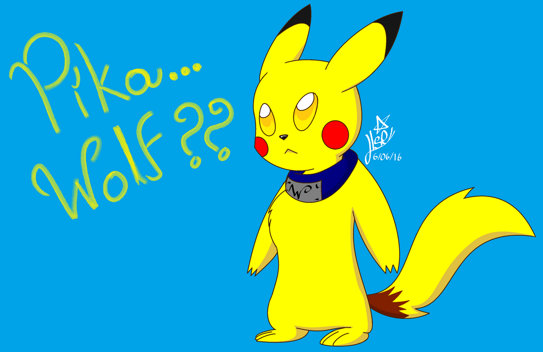 PikaWolf? by SonicTHW93