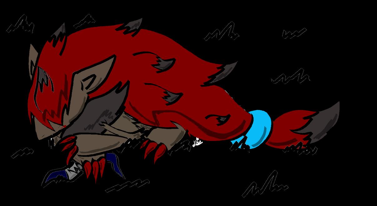 Zoroark...wolf? by SonicTHW93