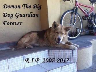 Demon EL GRAN perro guardian por siempre by SonicTHW93