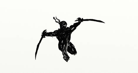 nameless ninja by SPARTAN2010