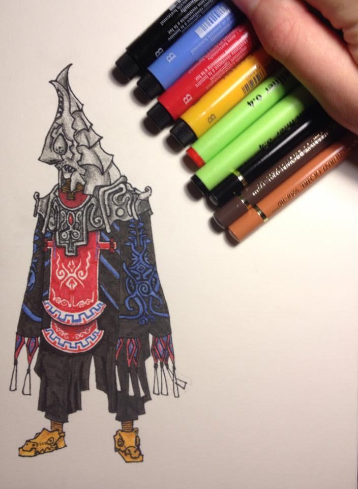 Zant the Usurper Doodle by LaraWegenaerArts