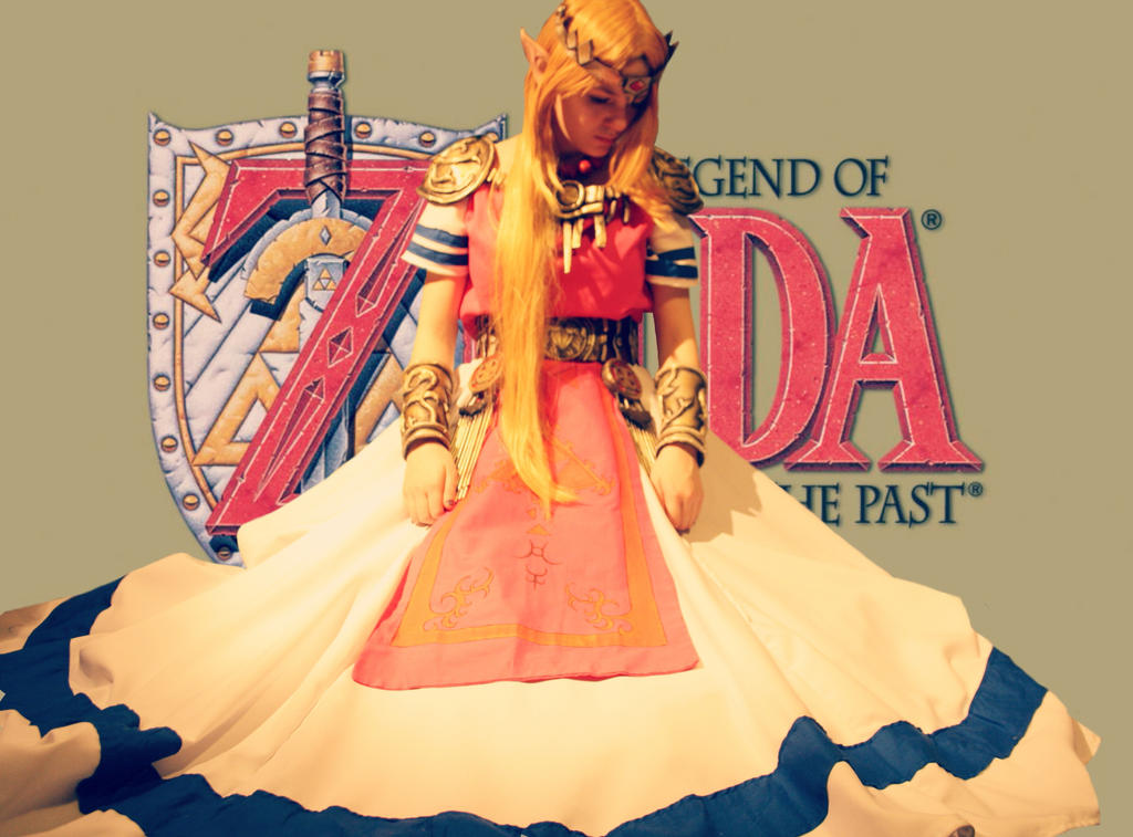 The Legend of Zelda Zelda Cosplay Link to the Past by LaraWegenaerArts