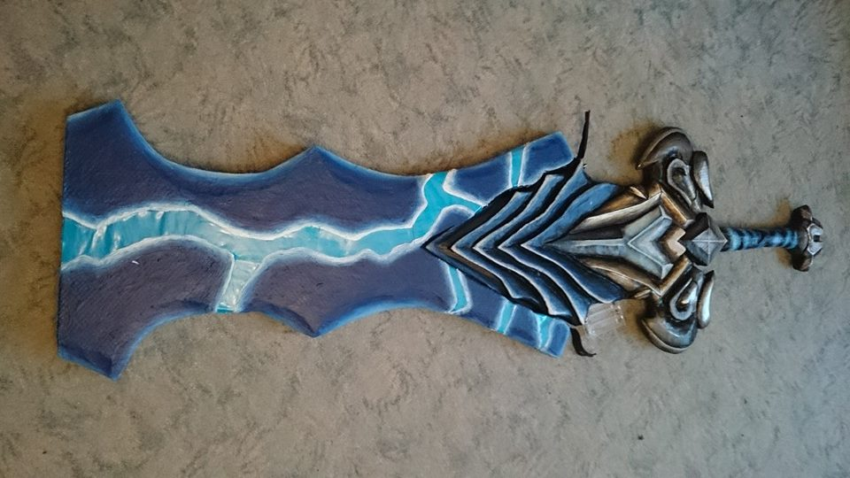 Championship Riven LoL Cosplay Sword by LaraWegenaerArts ...