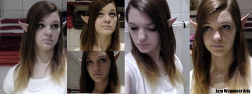 Zelda Make-Up Test by LaraWegenaerArts