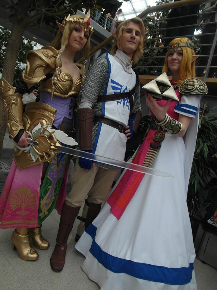 LBM Zelda Cosplay Friends Hyrule Warriors by LaraWegenaerArts