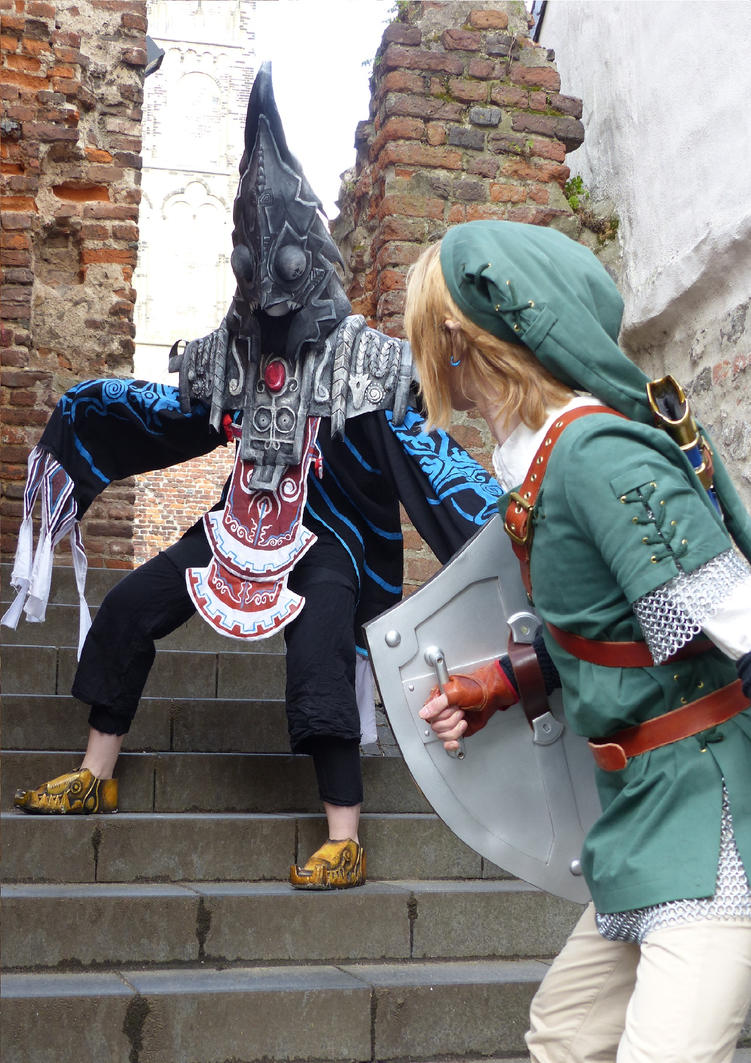 Zant versus Link by LaraWegenaerArts