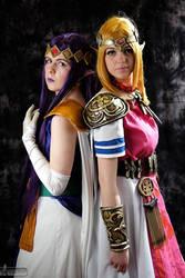 Zelda and Hilda by LaraWegenaerArts
