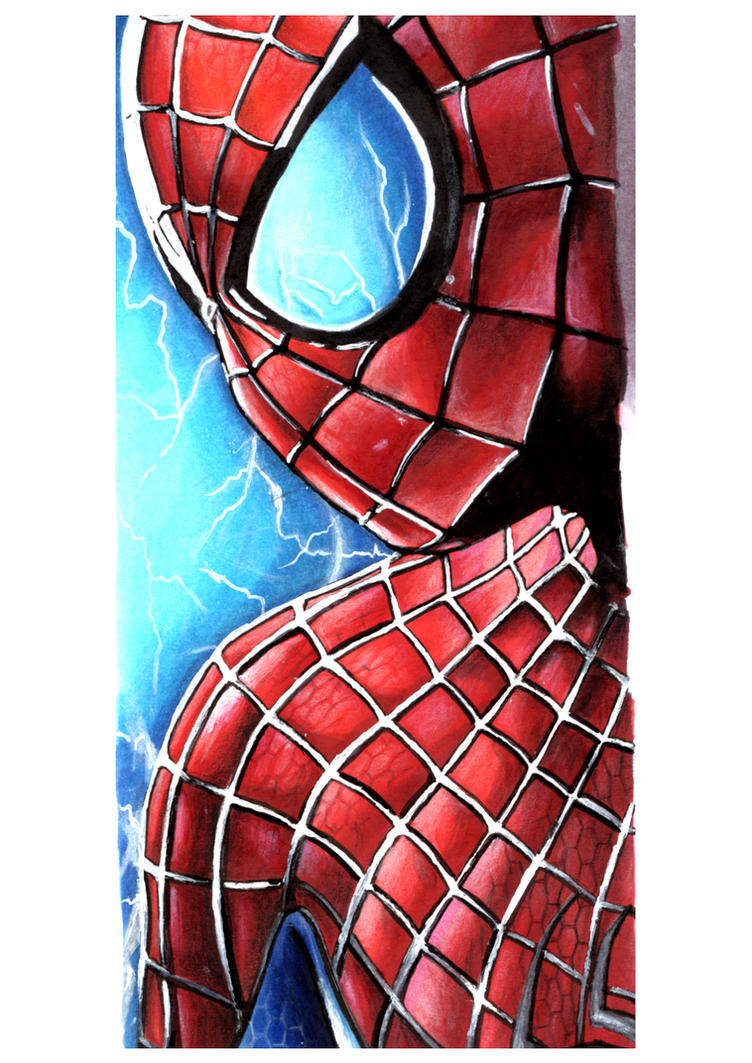 Spiderman by LaraWegenaerArts