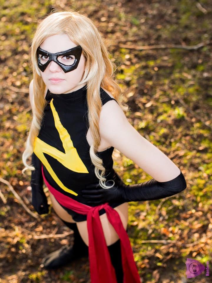 Miss Marvel #001 by LaraWegenaerArts