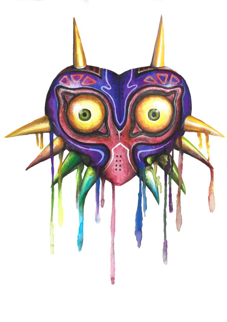 Majoras Mask by LaraWegenaerArts