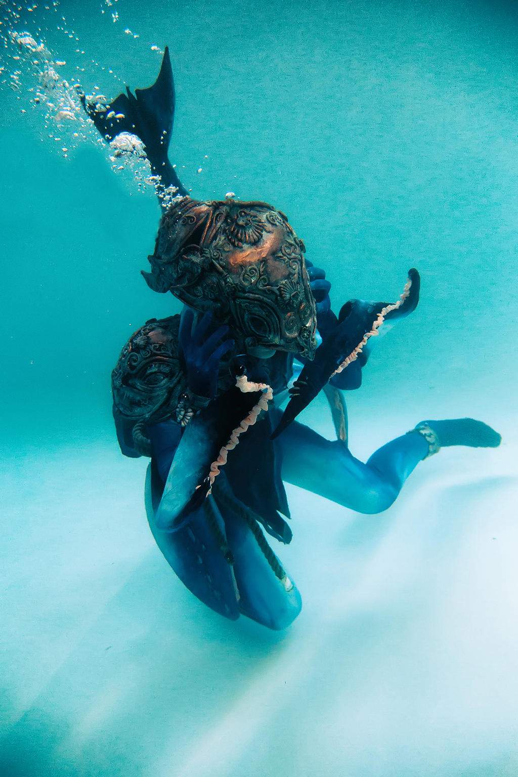 Underwater Shooting #001 Zora Twilight Princess by LaraWegenaerArts