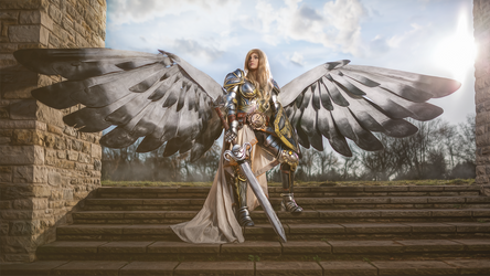 Magic: The Gathering Serra Angel Cosplay by LaraWegenaerArts