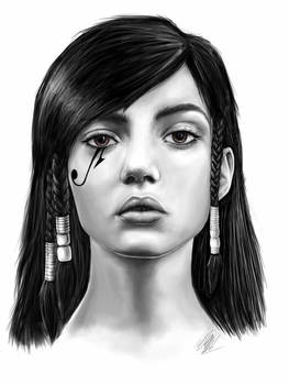 Pharah Overwatch Portrait
