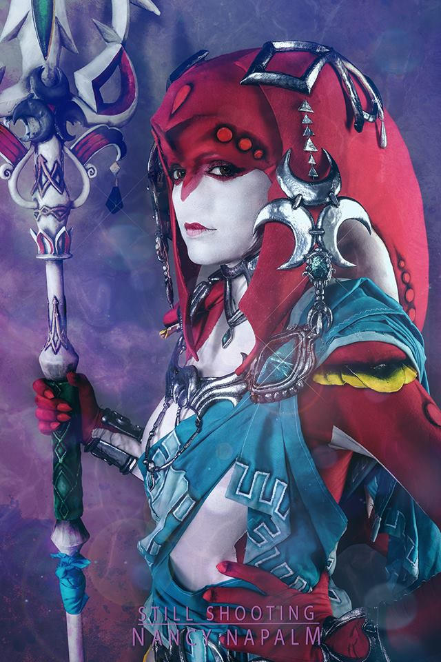 Mipha Breath of the Wild Cosplay Photo #001