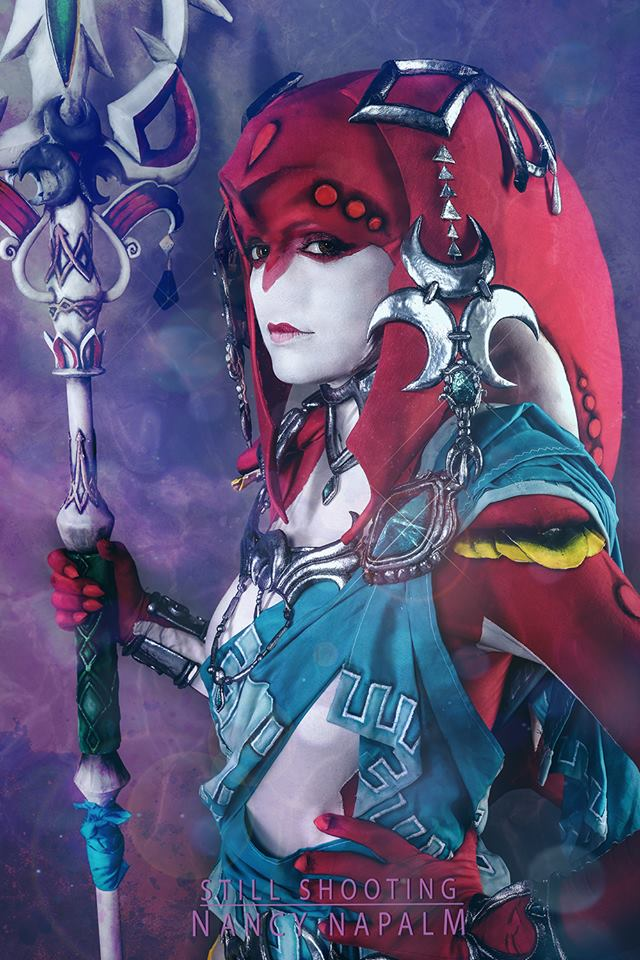 Mipha Breath of the Wild Cosplay Photo #001 by LaraWegenaerArts