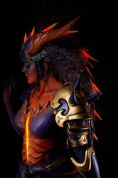 Dragon Symmetra by LaraWegenaerArts
