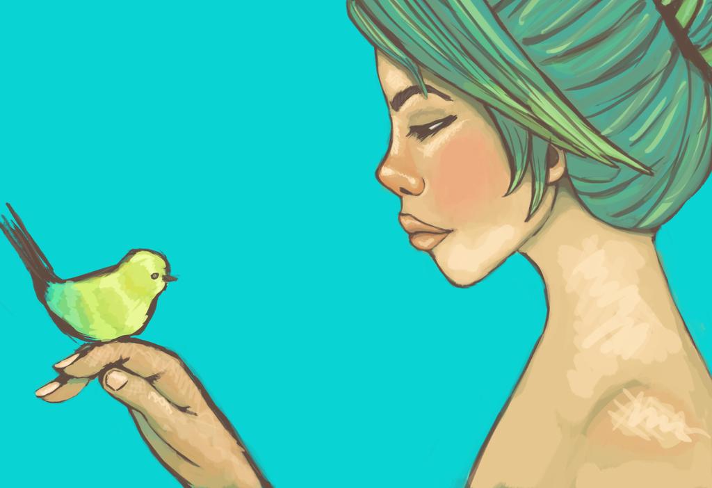 Birdy by TanishaHeaven