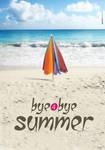 poster bye bye summer