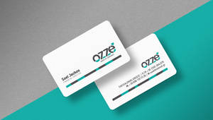 Personal Business card OZZE STORES