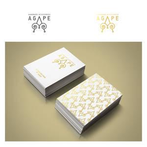 AGAPE Handmade Accessories Logo and Business Card