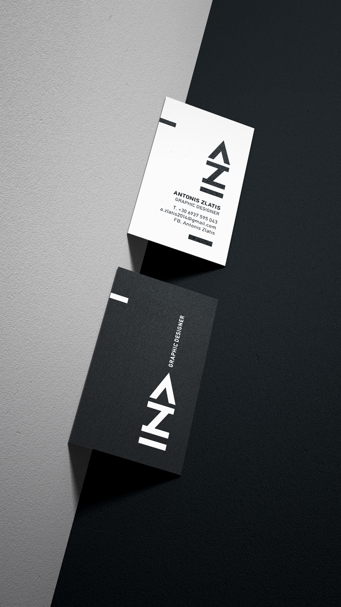 Personal Business Card by deviantonis